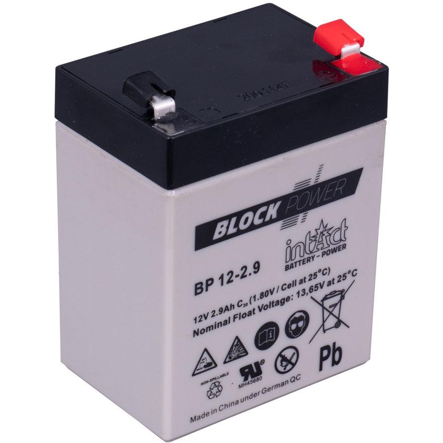 Intact Block-Power 12V 2,9Ah BP-1