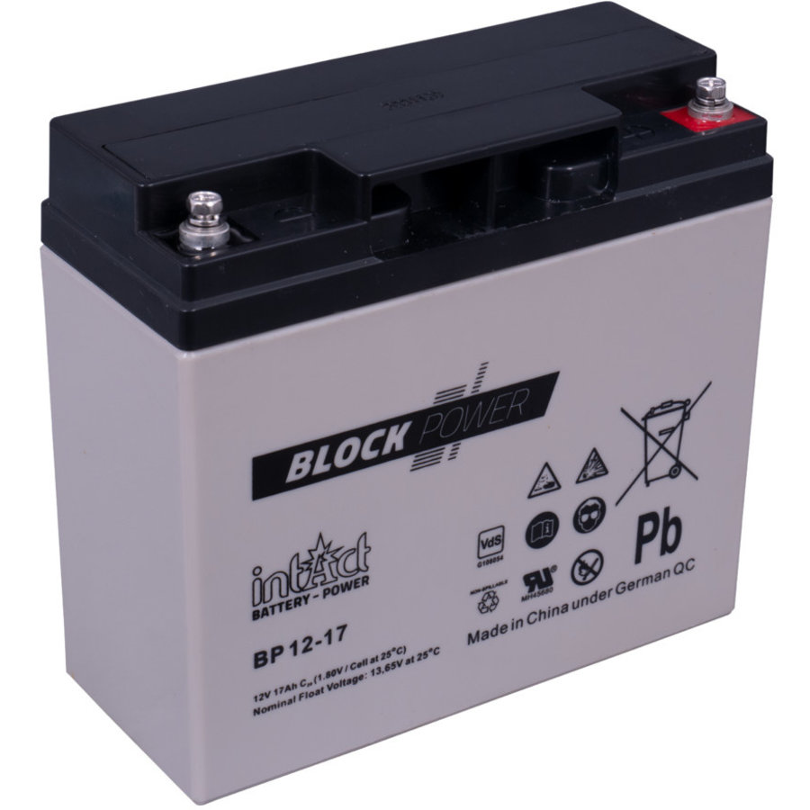 Intact Block-Power 12V 17Ah BP-1