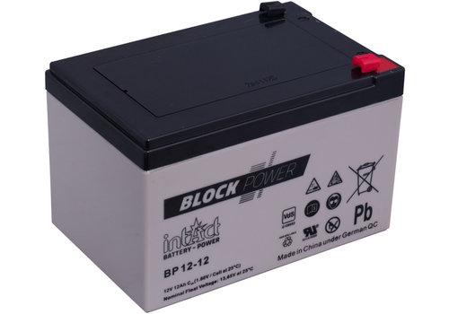 Intact Block-Power 12V 12Ah BP