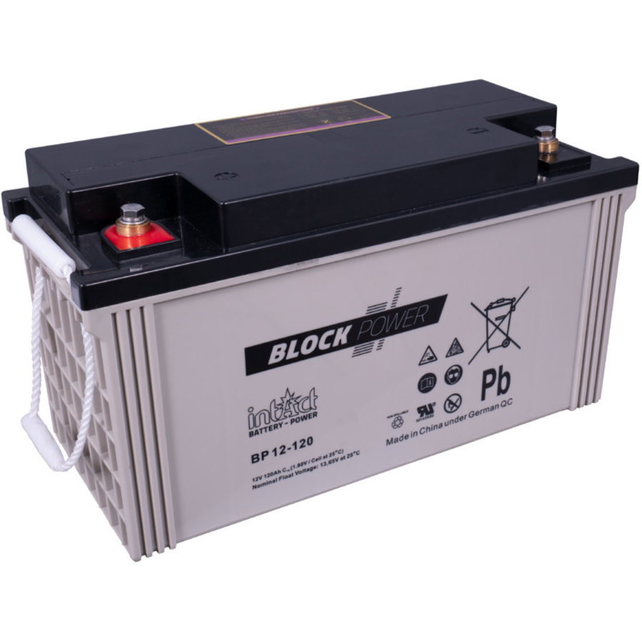 Intact Block-Power 12V 120Ah BP-1