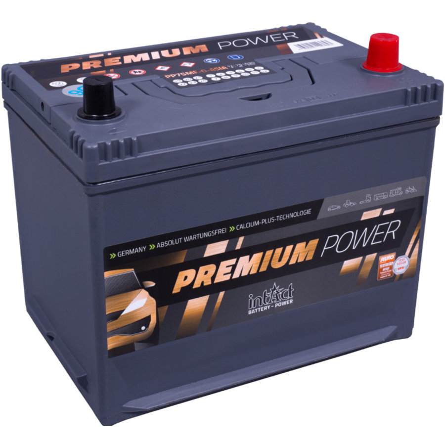 Intact Premium-Power 12V 75Ah ASIA +R-1
