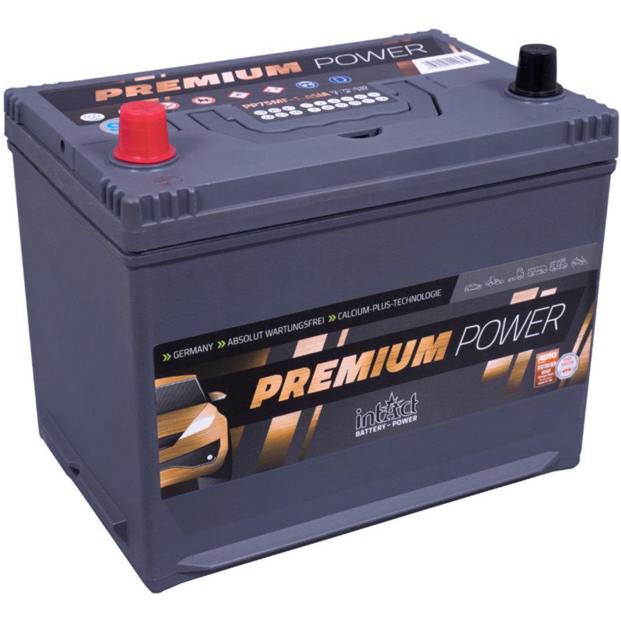 Intact Premium-Power 12V 75Ah ASIA +L-1