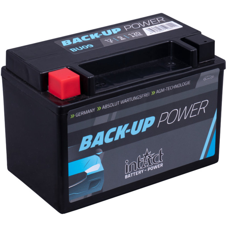 Intact Back-Up-Power Batterie 12 V 9 AH-1