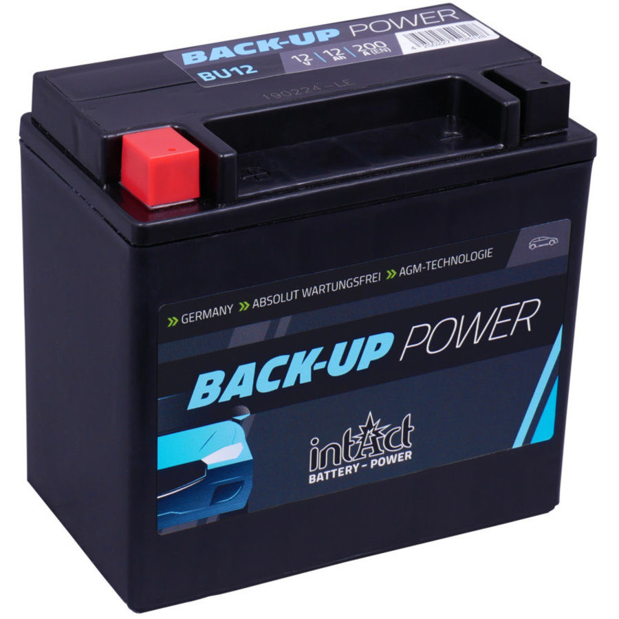Intact Back-Up-Power Batterie 12 V 12 AH-1