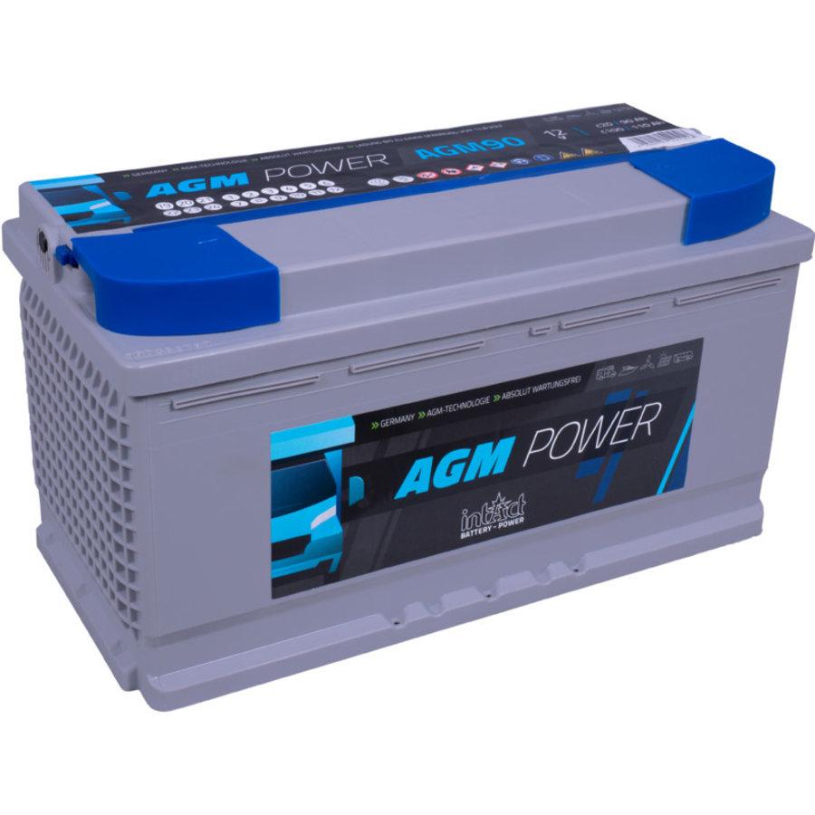 Intact AGM-Power 12V 90Ah-1