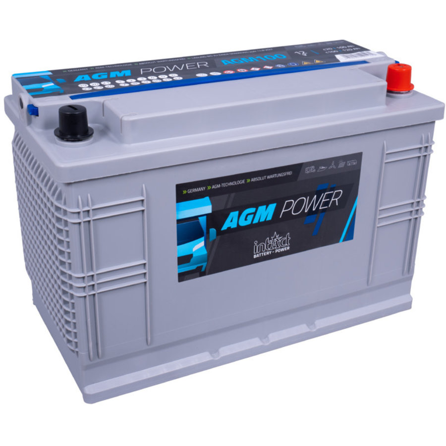 Intact AGM-Power 12V 100Ah-1