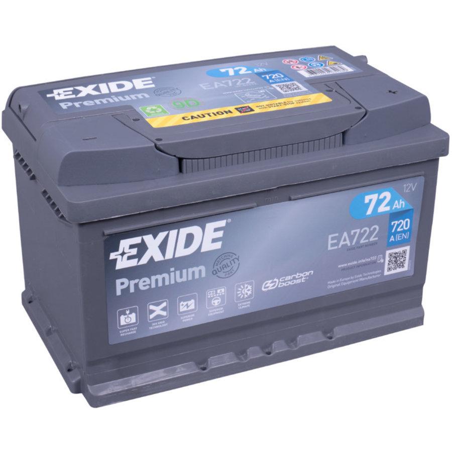 Exide Premium EA722 12V 72Ah-1