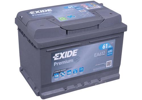Exide Premium EA612 12V 61Ah