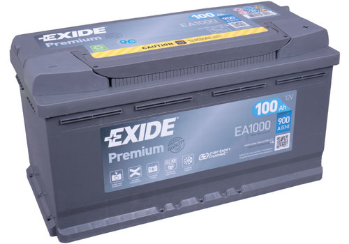 Exide Premium EA1000 12V 100Ah