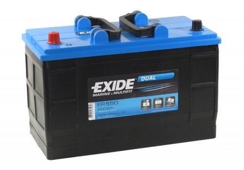 Exide Dual ER550 12V 115Ah