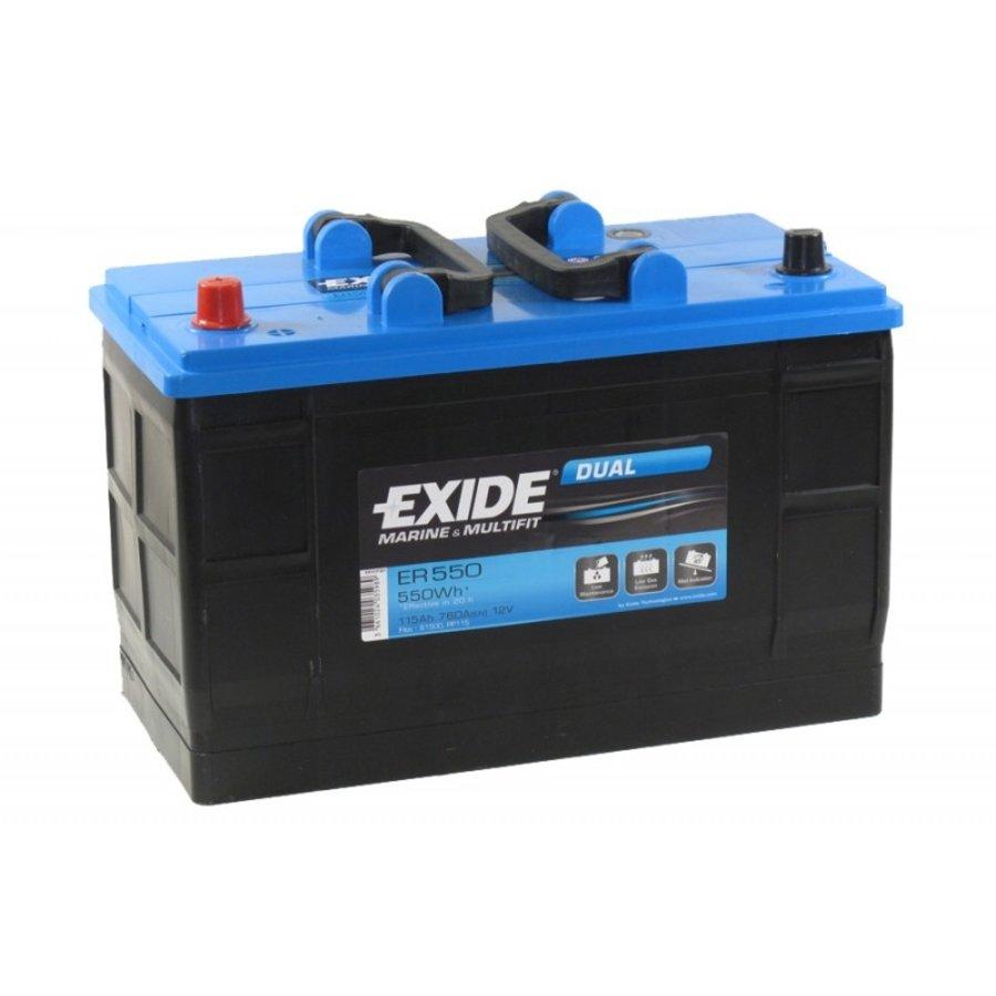 Exide Dual ER550 12V 115Ah-1