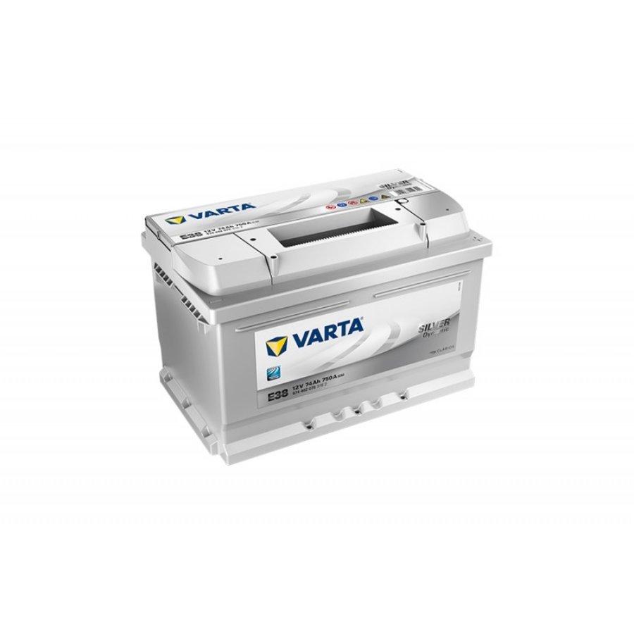 VARTA Silver Dynamic 12V 74Ah 750A-1