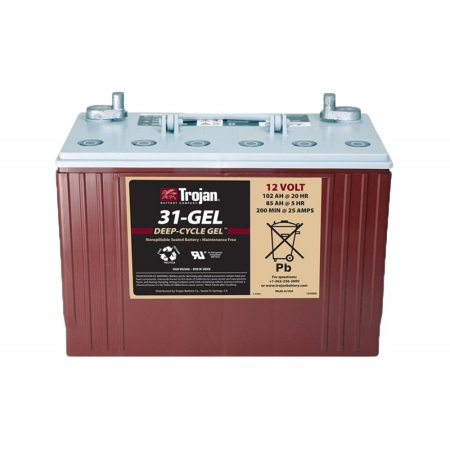 Trojan 31-GEL Deep Cycle 12V 102Ah-1
