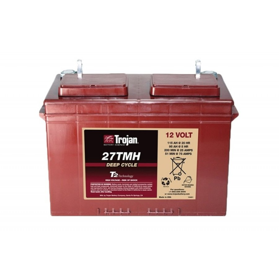 Trojan 27TMH Deep Cycle 12V 115Ah-1