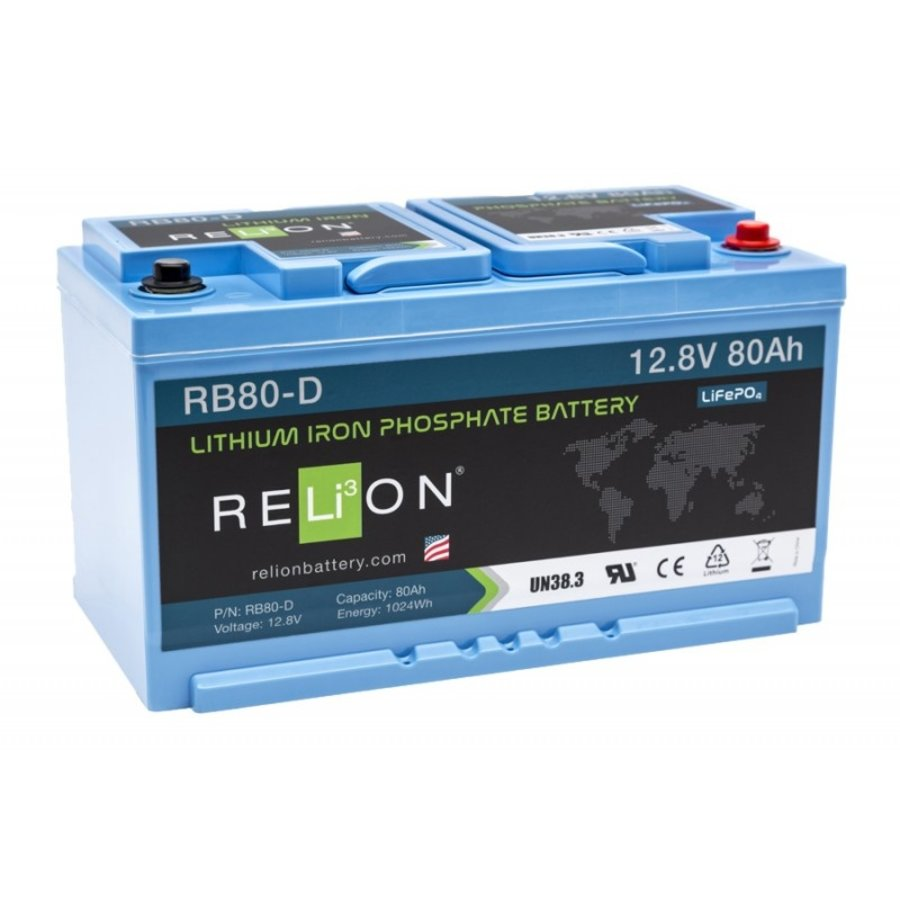 RELION Lithium Battery 12,8V 80Ah-1