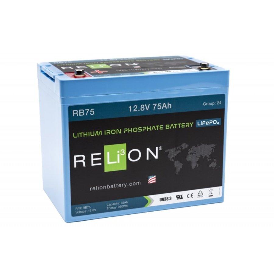 RELION Lithium Battery 12,8V 75Ah-1