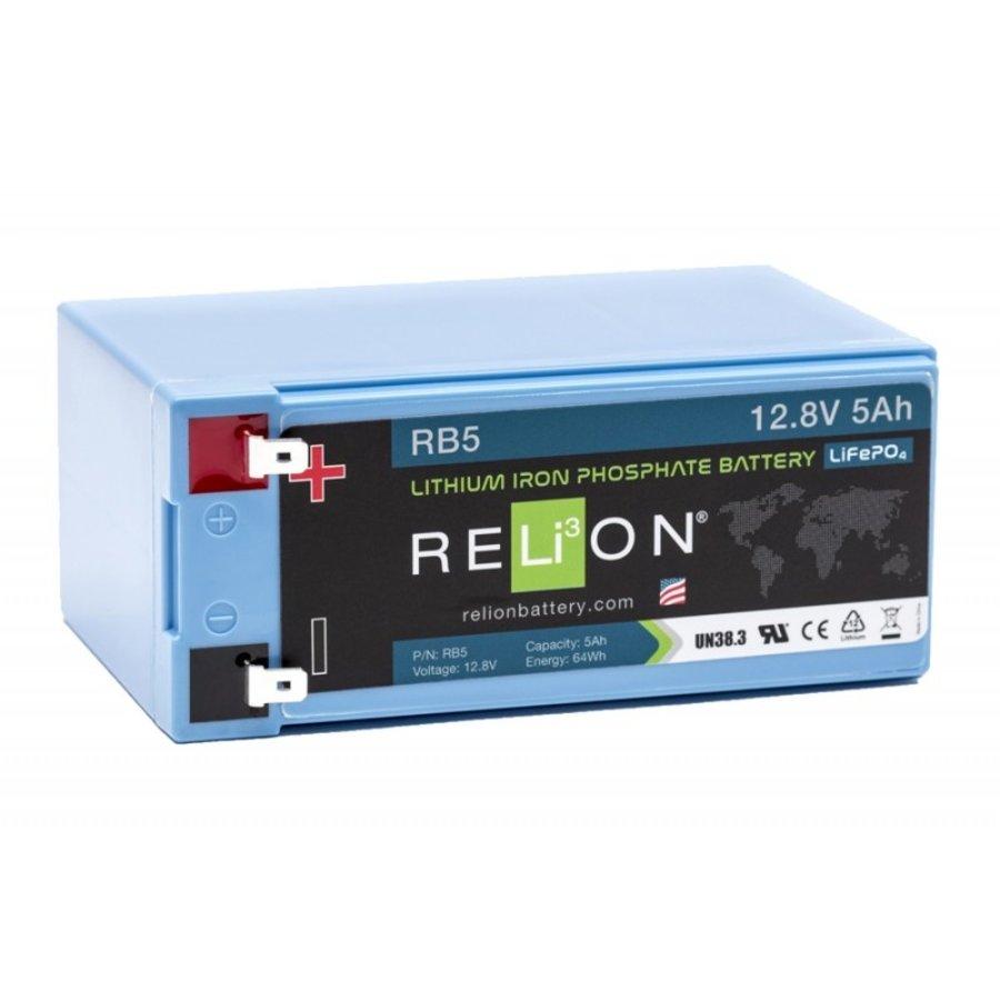 RELION Lithium Battery 12,8V 5Ah-1