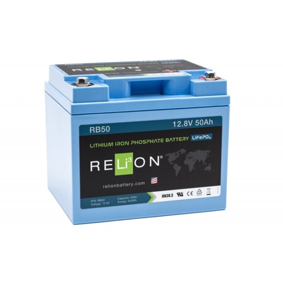 RELION Lithium Battery 12,8V 50Ah-1
