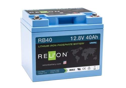 RELION Lithium Battery 12,8V 40Ah
