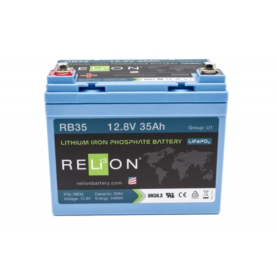 RELION Lithium Battery 12,8V 35Ah-1