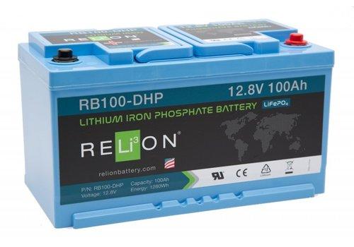 RELION Lithium Battery 12,8V 100Ah DHP