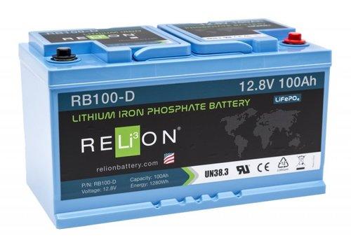 RELION Lithium Battery 12,8V 100Ah D