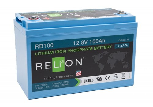 RELION Lithium Battery 12,8V 100Ah