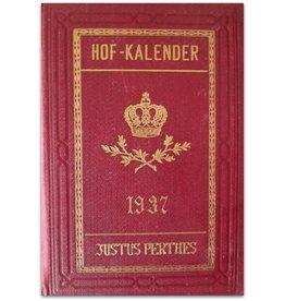 [Die Schriftleitung] - Gothaischer Hofkalender Jahrgang 1937