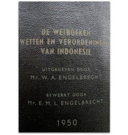 W.A. Engelbrecht - De Wetboeken van Indonesië - 1950