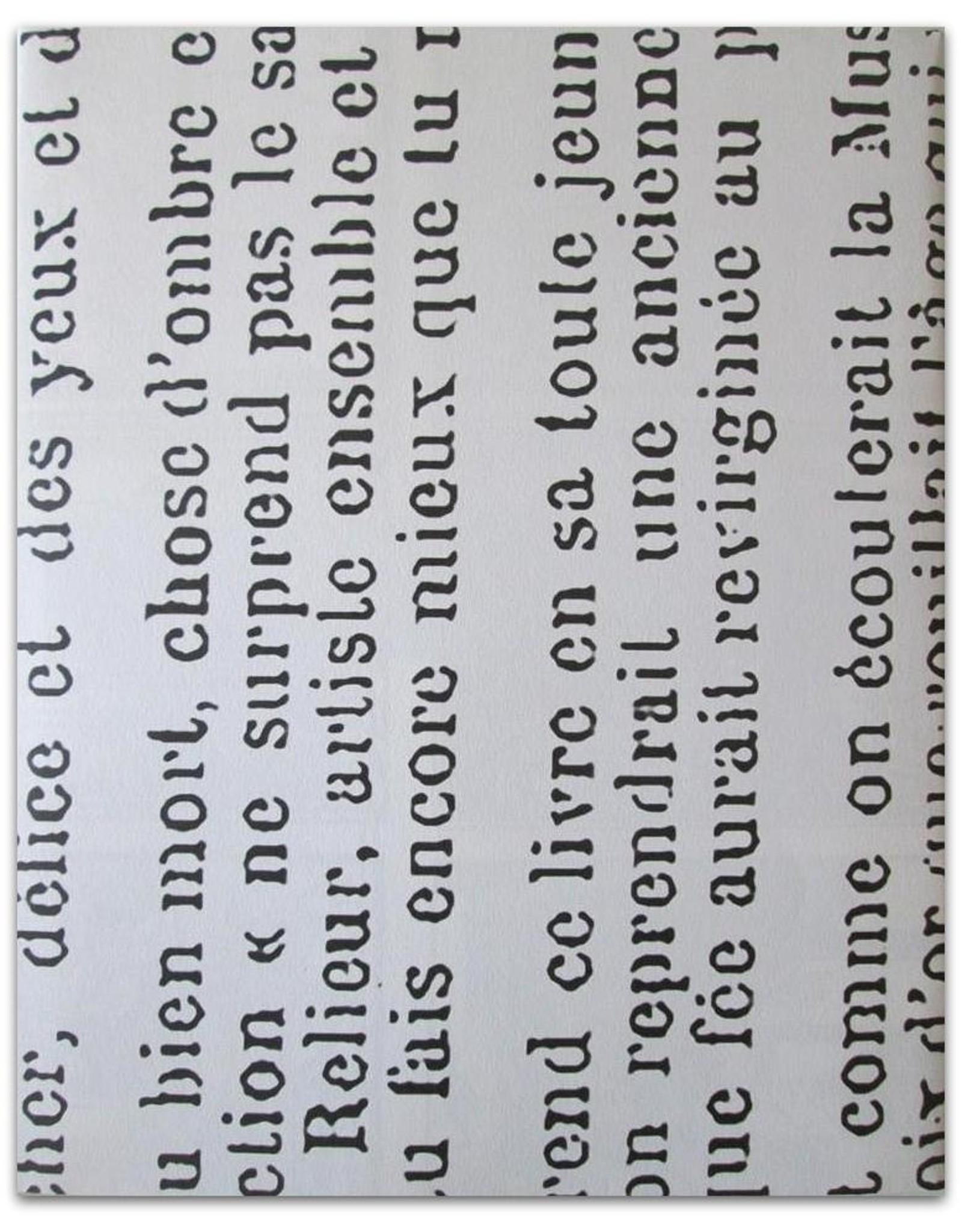 Paul Verlaine - Biblio-sonnetten / Biblio-sonnets. Vertaald door Martin Hulsenboom. Houtsneden van Richard Ranft