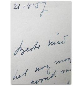 Marga Minco - Beste Nico [Wijnen], - 1957
