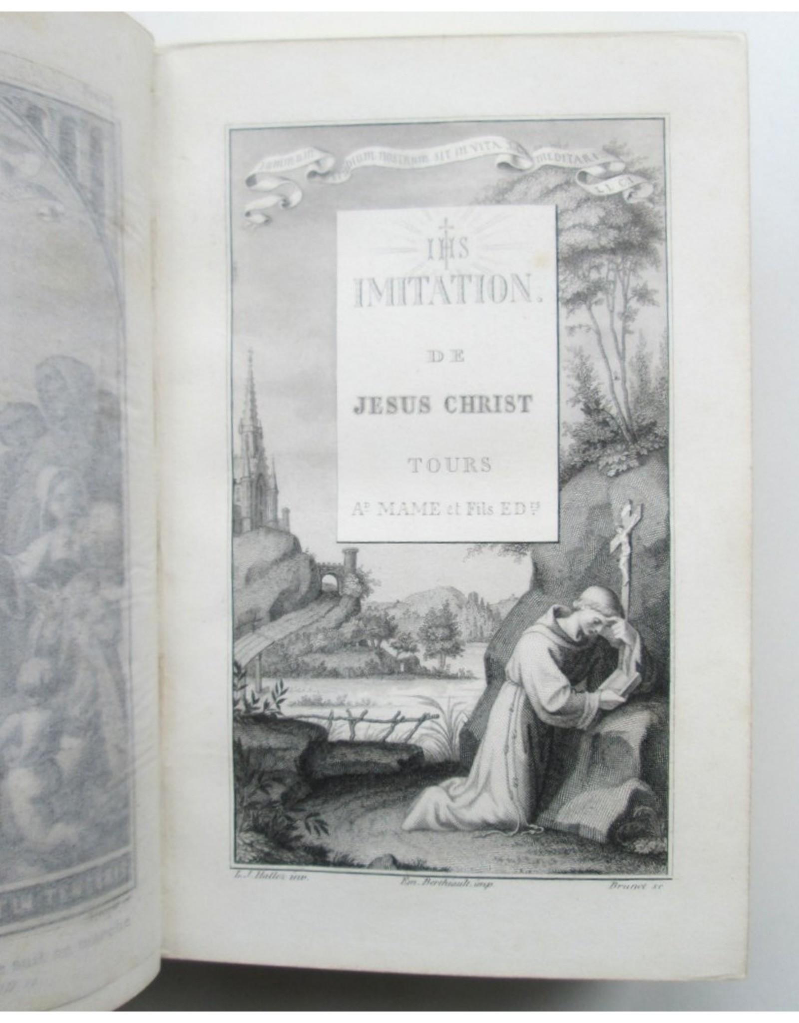 [Thomas a Kempis] -  L'Imitation de Jésus-Christ: Traduction Nouvelle avec des réflexions a la fin [...]