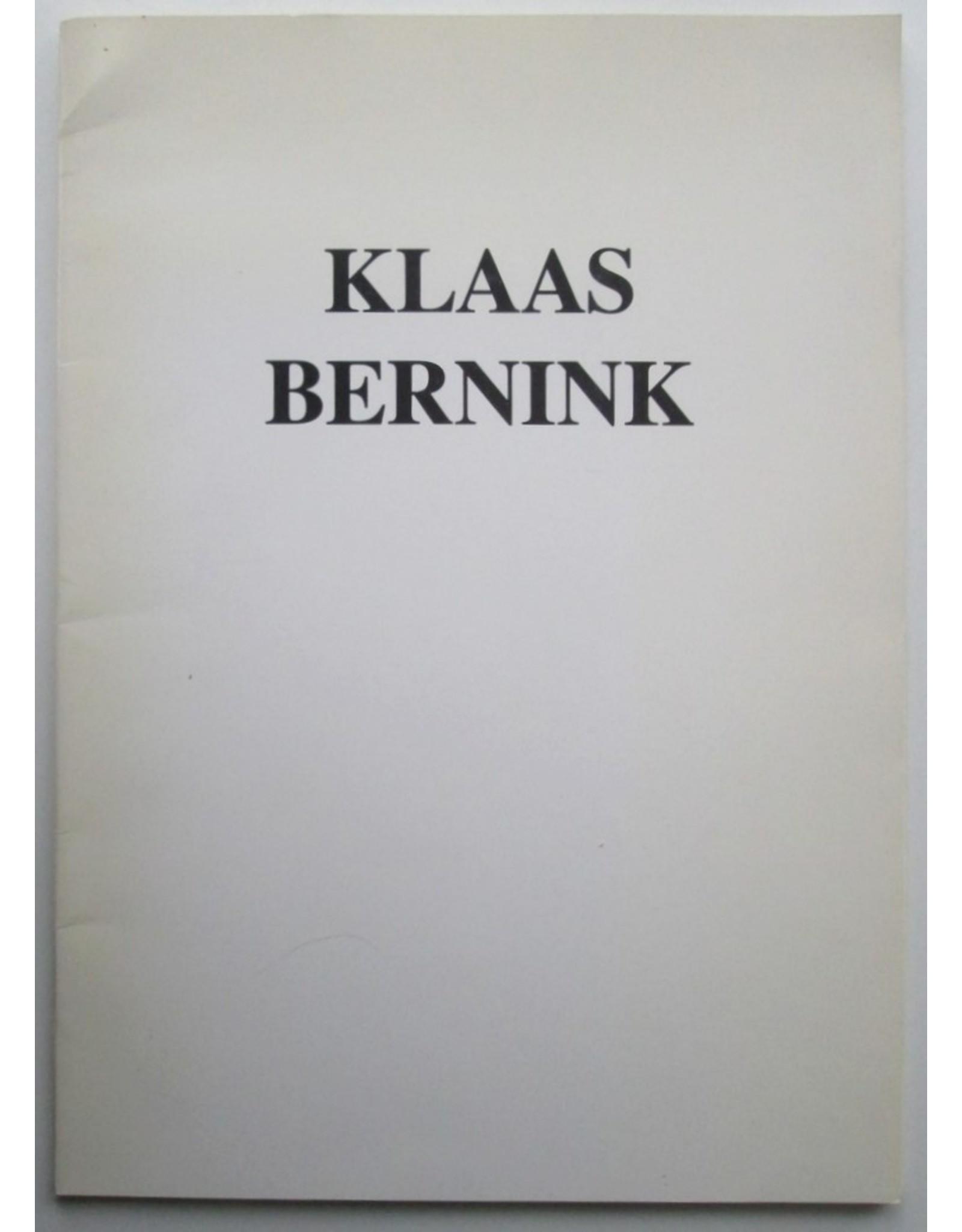 Frans Duister - Klaas Bernink