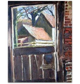 Arie van der Boon - Gezicht op boerderij - ca 1950