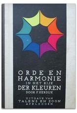 F. Kerdijk - Orde en Harmonie in het Rijk der Kleuren  [summary of Ostwald's colour theory]