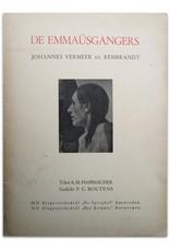 A.M. Hammacher - De Emmaüsgangers. Johannes Vermeer en Rembrandt. Gedicht P.C. Boutens
