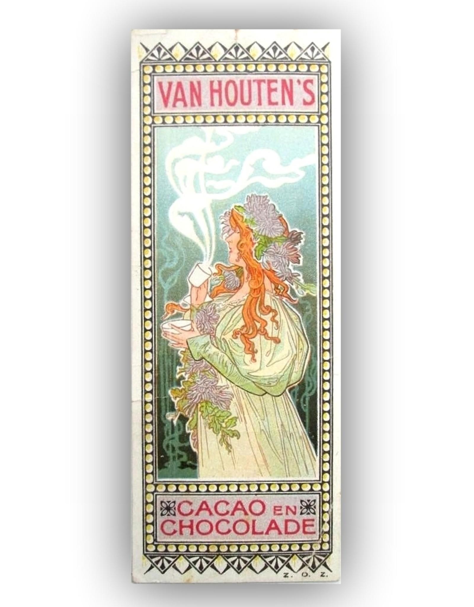 Henri Privat-Livemont - Van Houten's Cacao en Chocolade [Boekenlegger]