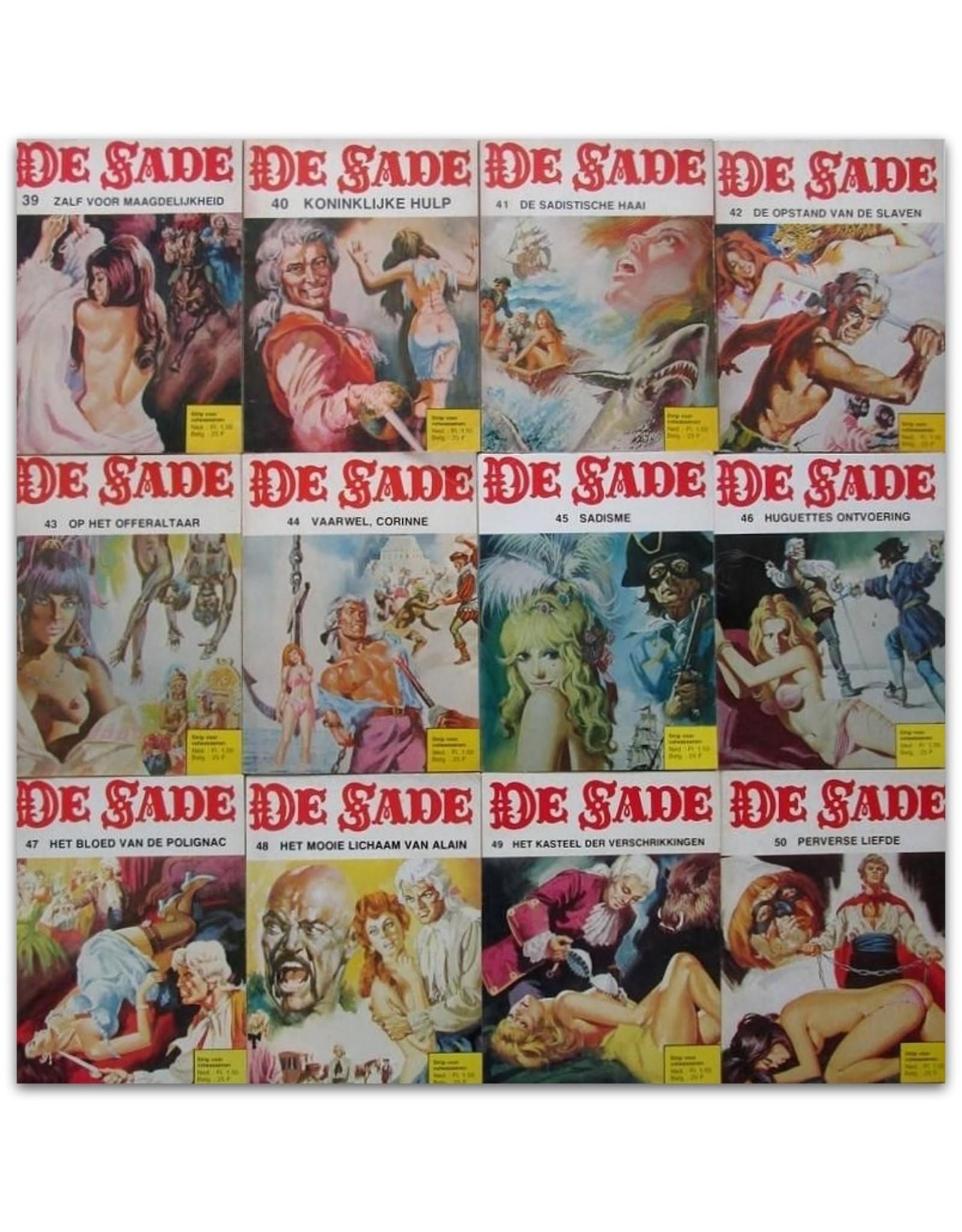 D.A.F. De Sade - Strip voor volwassenen [Complete reeks]