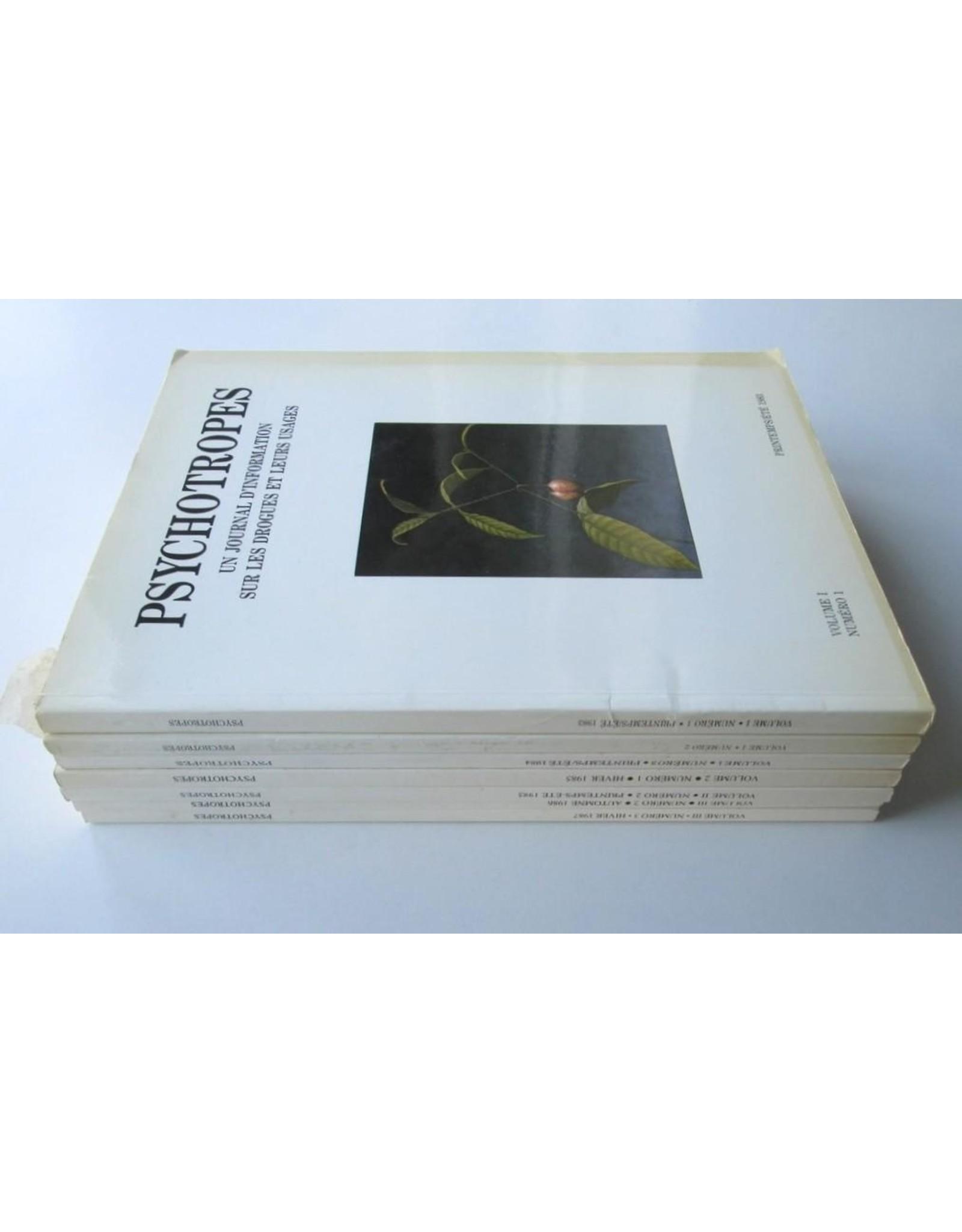 Ronald Verbeke - Psychotropes [Complete eerste jaargang] Numéro 1 t/m 3.