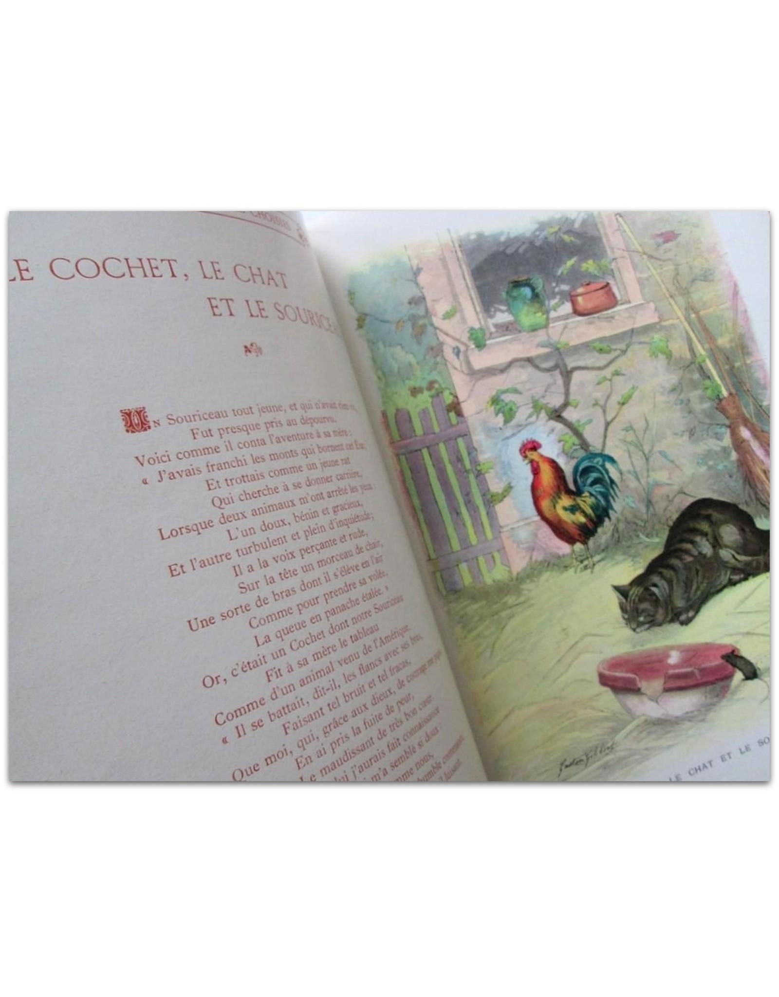 Jean de La Fontaine - Fables Choisies: Bibliothèque de la Jeunesse et de l'Enfance