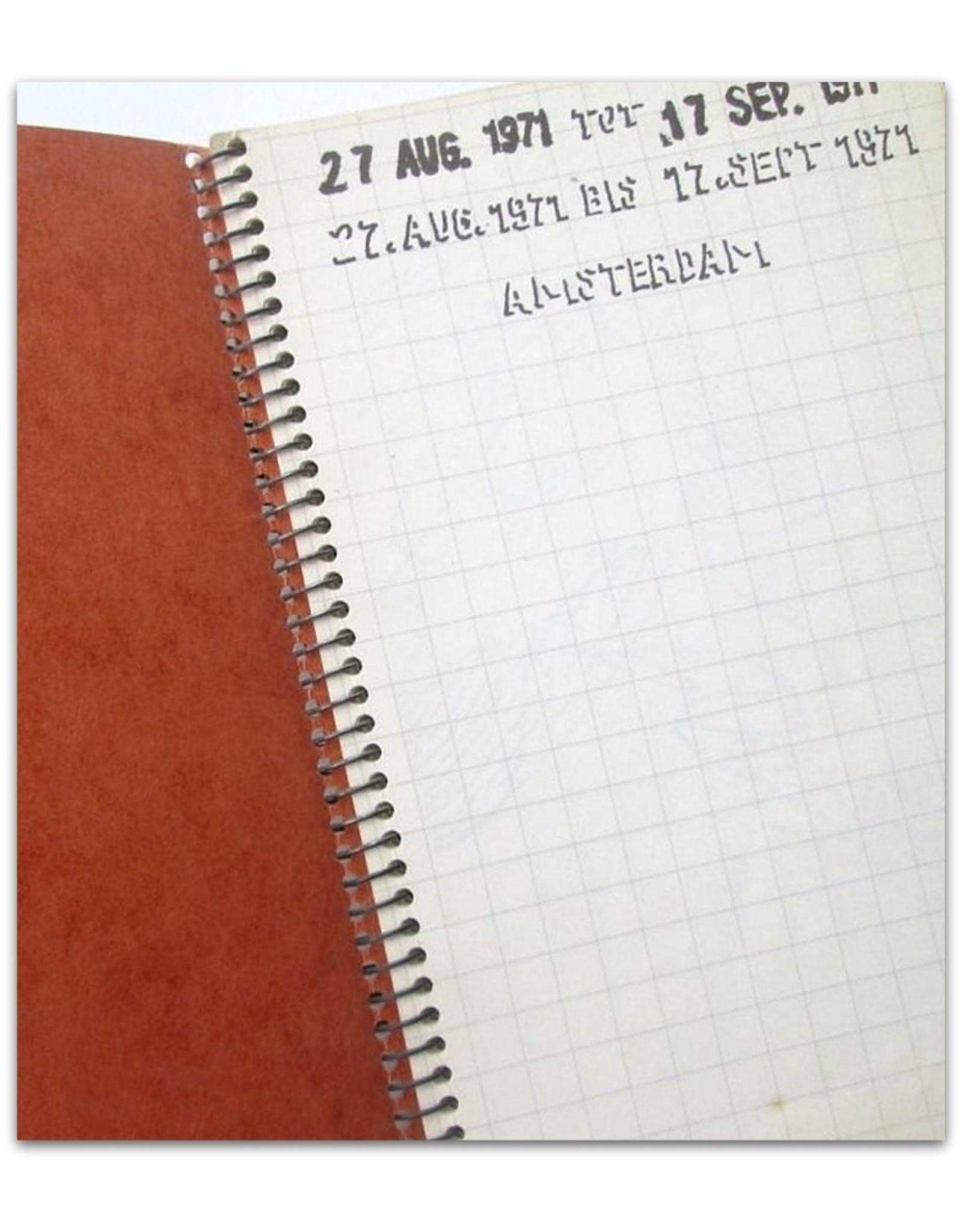 Markus Rätz - 27 Aug. 1971 tot / bis 17 Sept 1971. Amsterdam