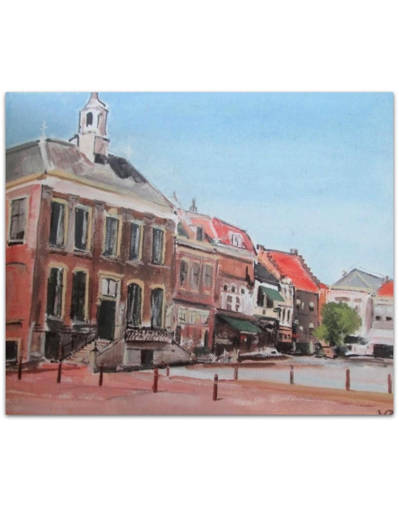 Theun van Zanden - Bommels Prentenboek - 13 prenten van de oude stad Zaltbommel [...]