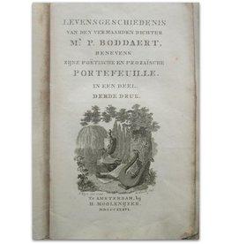 Pieter Boddaert - Levensgeschiedenis - 1836