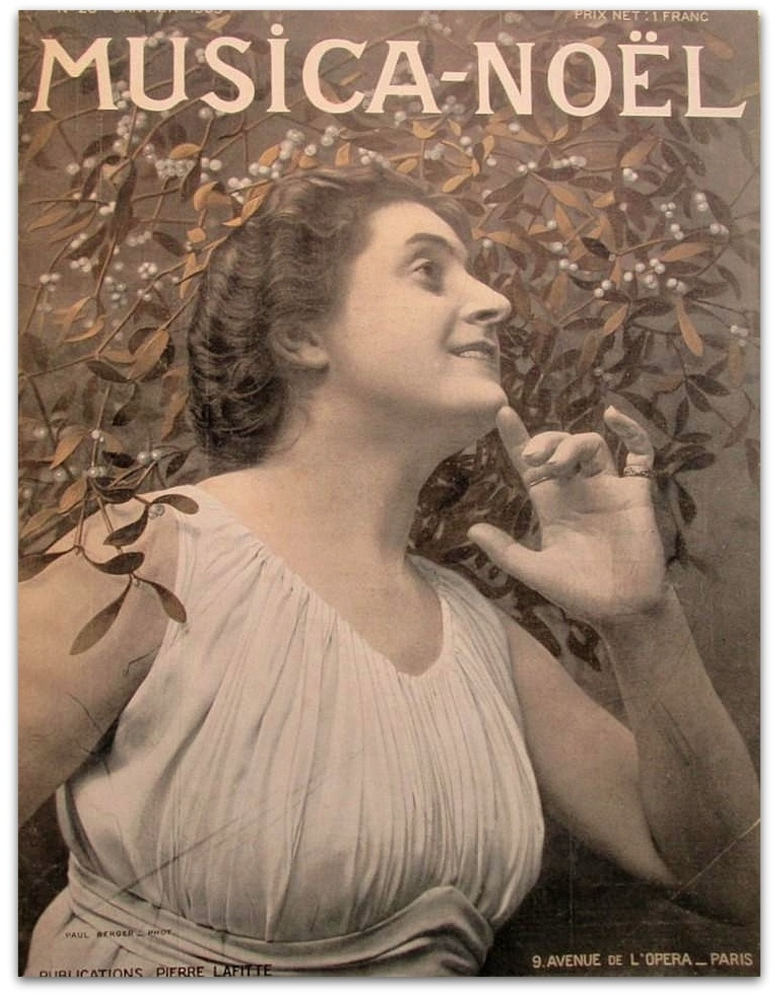 [Sarah Bernhardt] - Musica [Quatrième année 1905: Janvier No. 28 t/m Décembre No. 39]