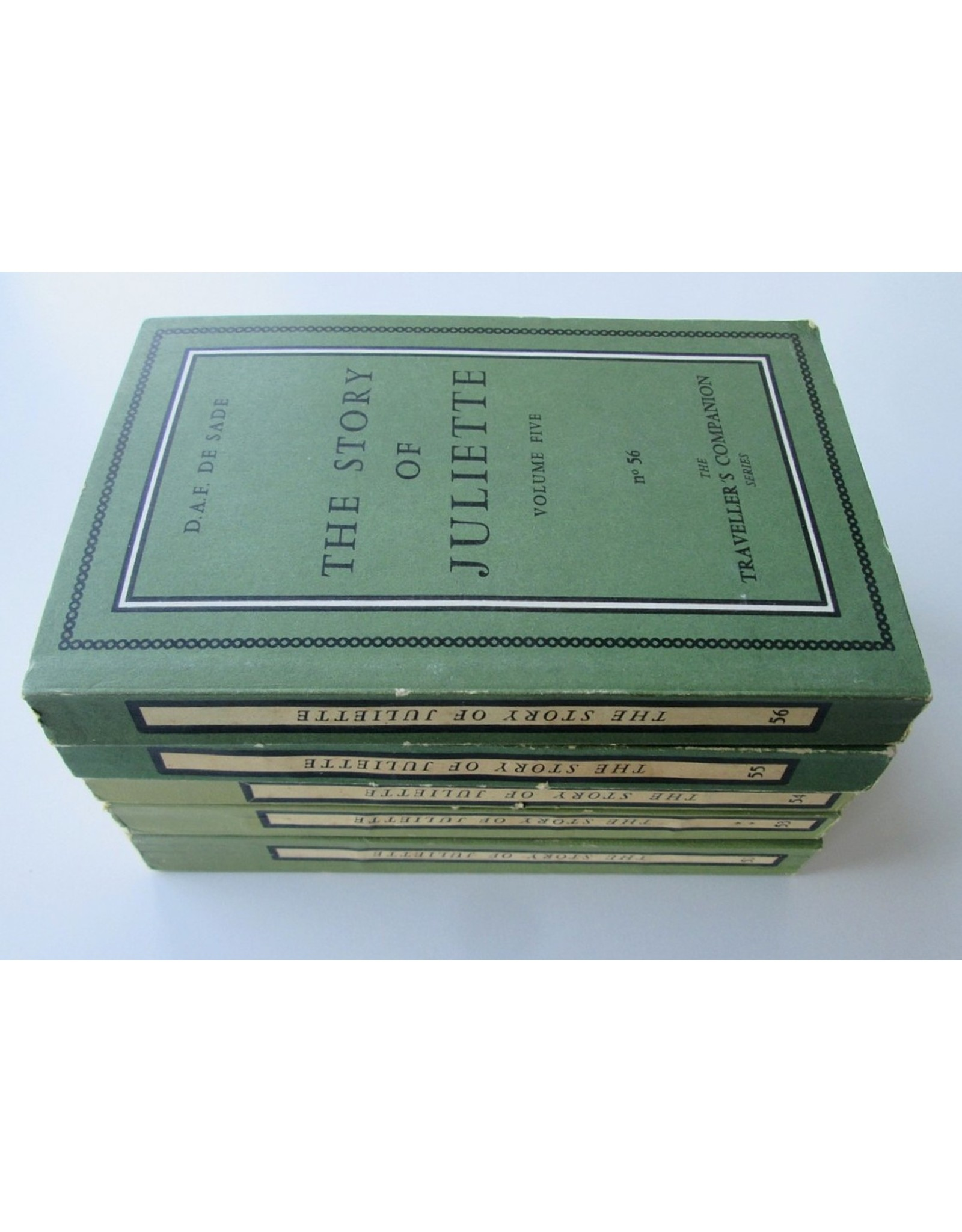 D.A.F. De Sade - The Story of Juliette or: Vice Amply Rewarded. Being an English rendering of the French by Pieralessandro Casavini in five volumes