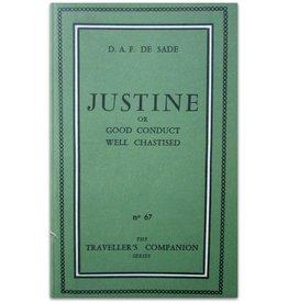 D.A.F. De Sade - Justine - 1959