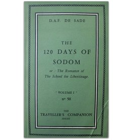 D.A.F. De Sade - The 120 Days of Sodom - 1957