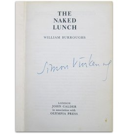 William Burroughs - The Naked Lunch - 1964