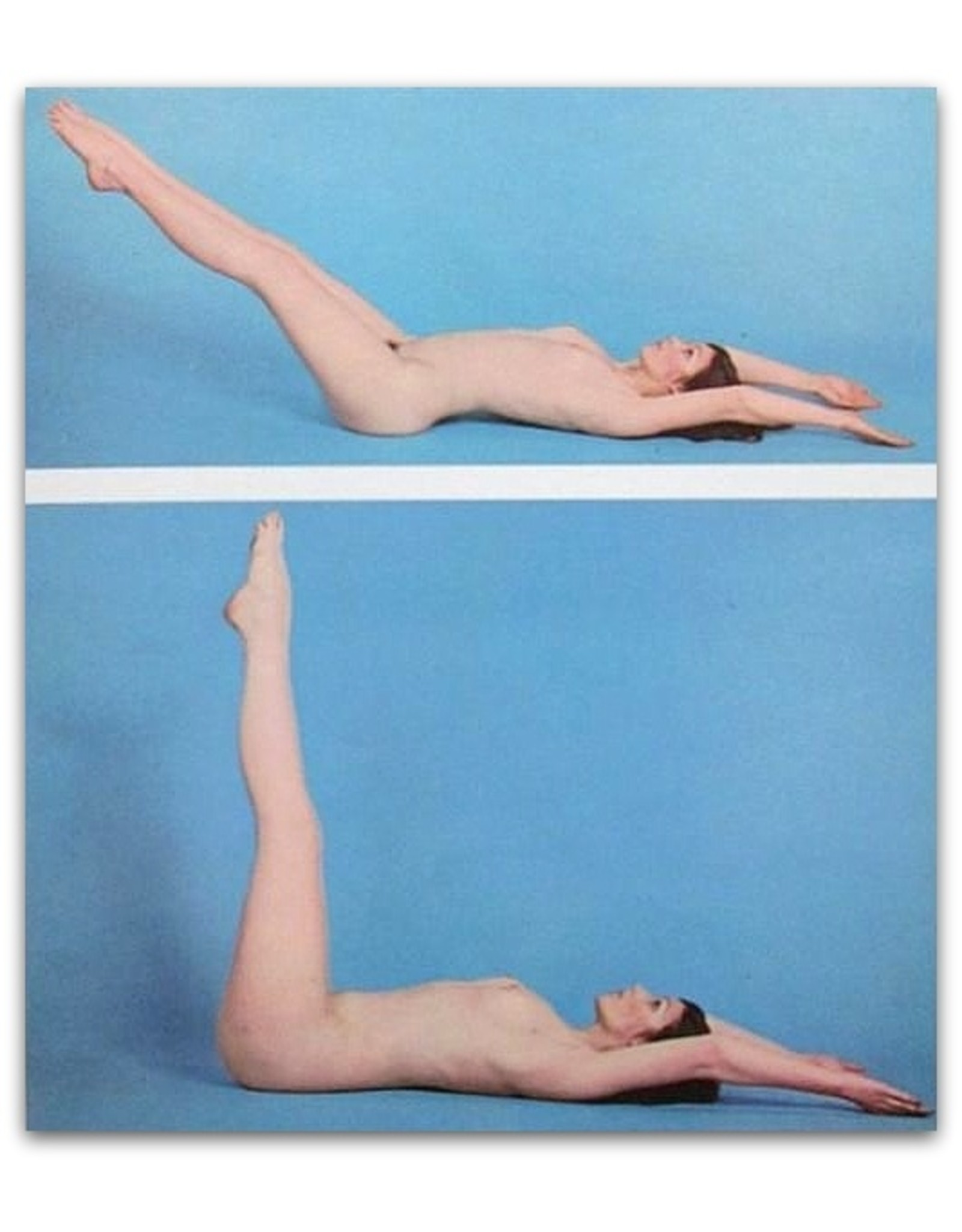 Malcolm Leigh - Naked Yoga - First Series of Asanas. Photography by John Adams