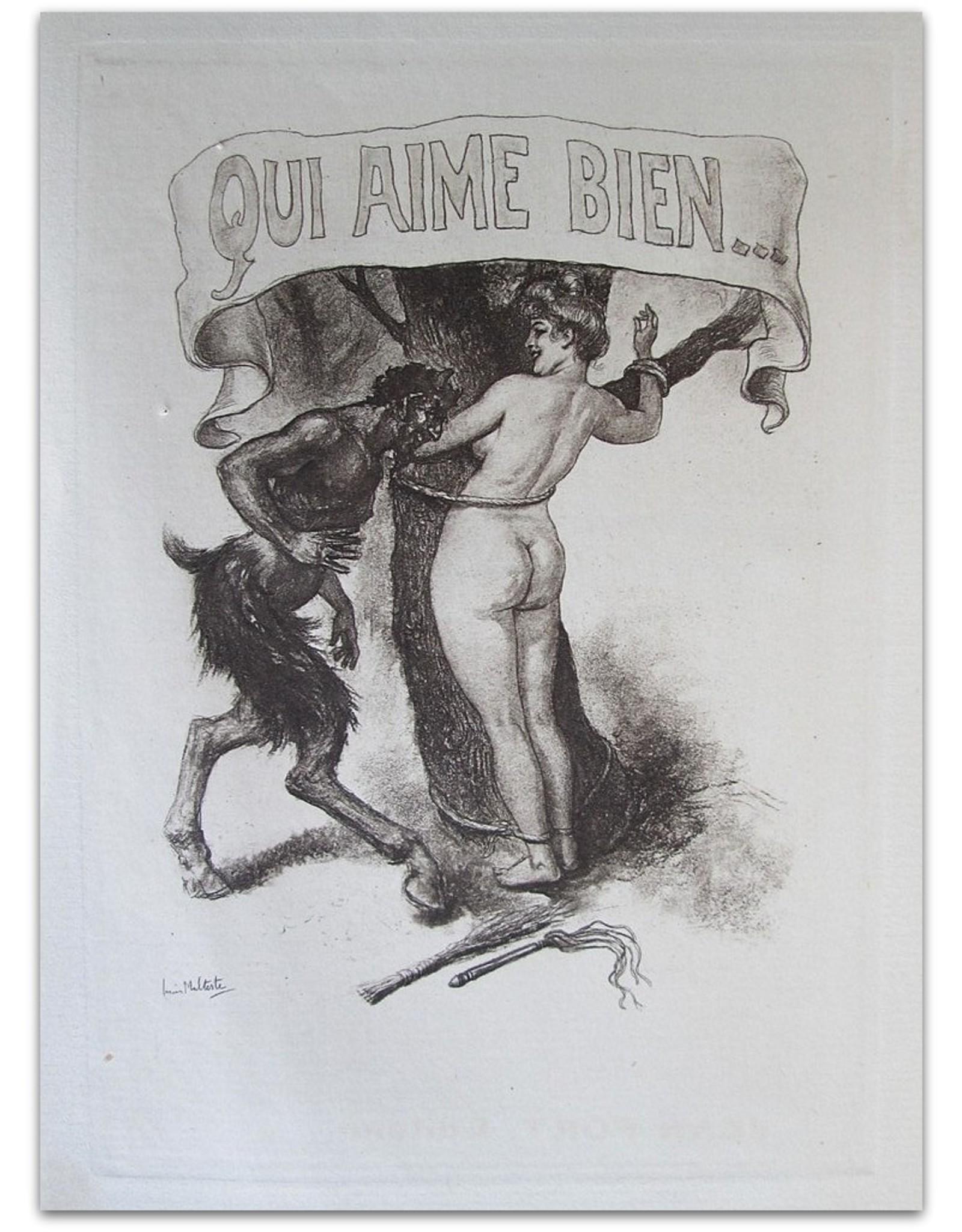 Jacques d'Icy - Qui aime bien ou la Flagellation dans la Vie moderne et ce qu'en pense la Jeune Fille d'aujourd'hui - Receuil de Faits authentiques